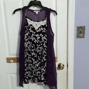 Flowy butterfly dress